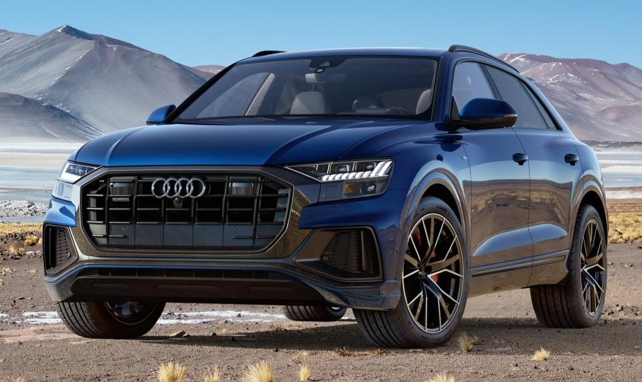 2019 audi q8 priced in america, is expensive \u2013 automotivetestdrivers  the all new 2019 audi q8 full size suv has received its official msrp for the u s market launching with only one 335 horsepower 3 0 liter tfsi v6 engine,
