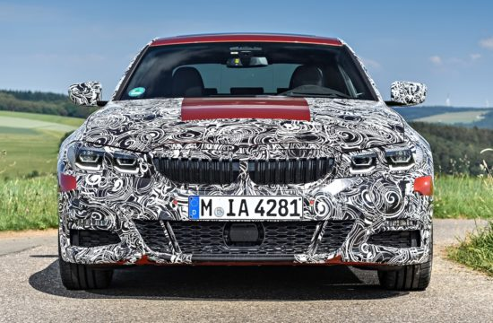 2019 BMW 3 Series testing 550x360 at 2019 BMW 3 Series Wraps Up Final Tests, Readies for Debut