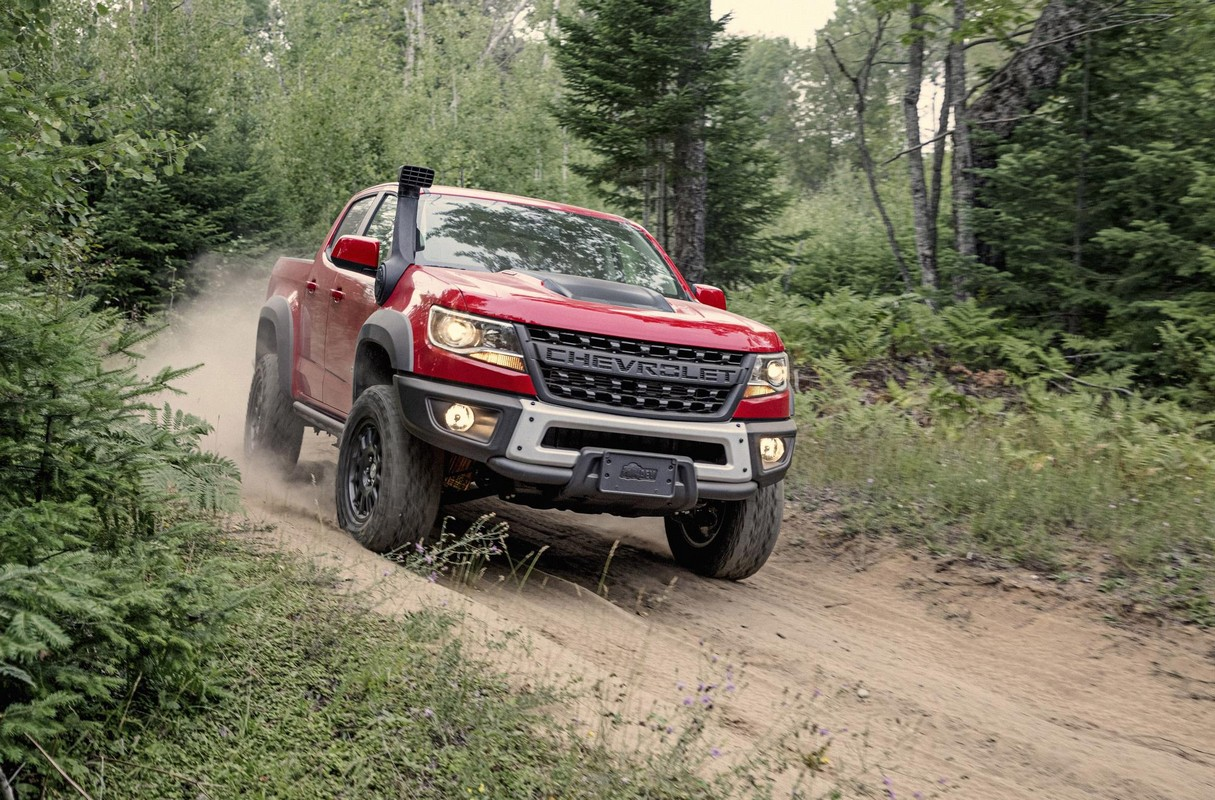 Official 2019 Chevrolet Colorado Zr2 Bison