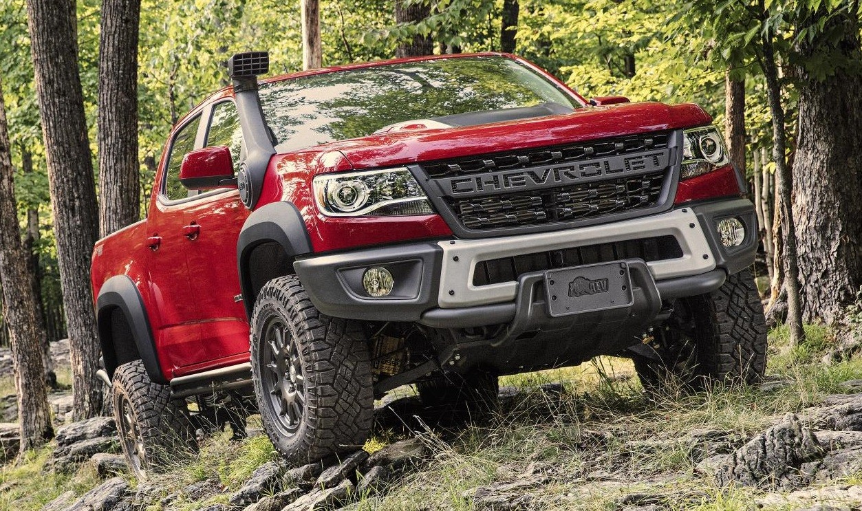 American Expedition Vehicles >> Official: 2019 Chevrolet Colorado ZR2 Bison