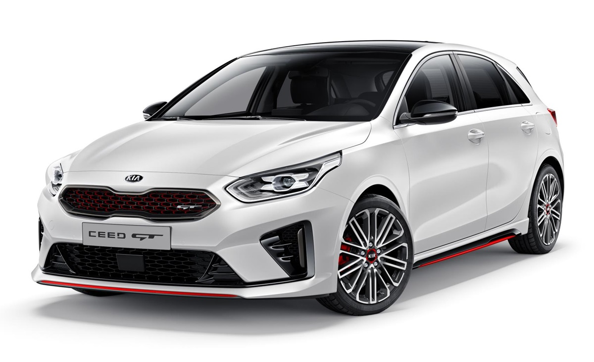 2019 kia ceed gt unveiled ahead of paris debut. Black Bedroom Furniture Sets. Home Design Ideas