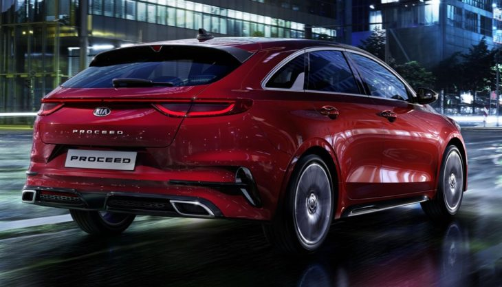 2019 Kia ProCeed 1 730x417 at 2019 Kia ProCeed Shooting Brake Looks Rather Excellent