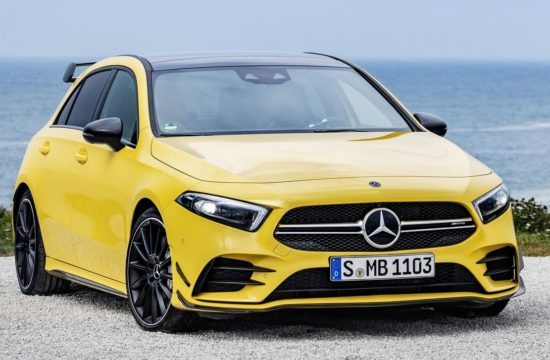 2019 Mercedes AMG A35 1 550x360 at 2019 Mercedes AMG A35 Unveiled with 306 Horsepower