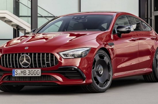 2019 Mercedes AMG GT 43 1 550x360 at 2019 Mercedes AMG GT 43 4 Door Pricing and Specs