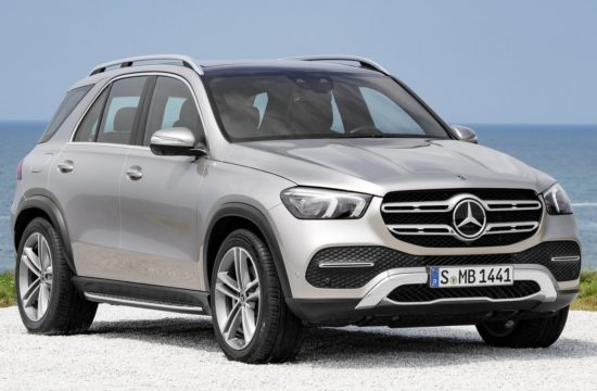 2019 Mercedes GLE 1 550x360 at 2019 Mercedes GLE   The Great Grandchild of the M Class