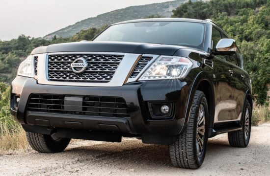 2019 Nissan Armada 1 550x360 at 2019 Nissan Armada   MSRP and Specs