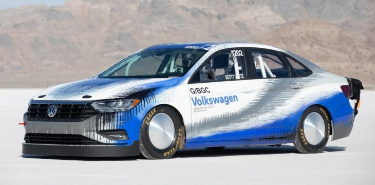 2019 VW Jetta Sets a Bonneville 1 730x360 at 2019 VW Jetta Sets a Bonneville Speed Record