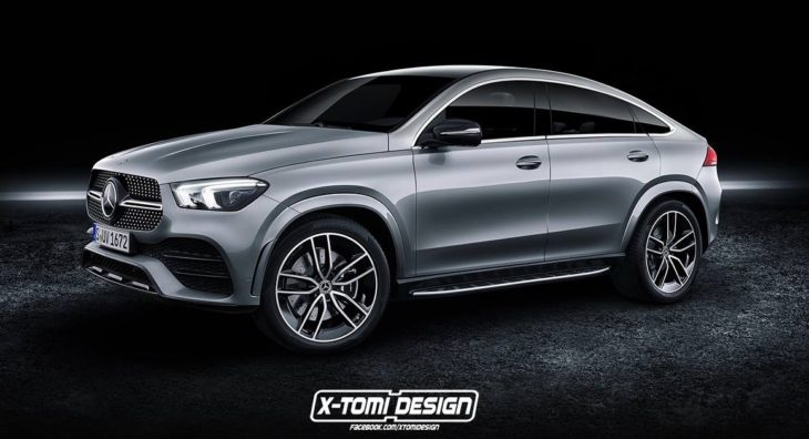 2020 Mercedes GLE Coupe 2 730x396 at 2020 Mercedes GLE Coupe Will Look Like This
