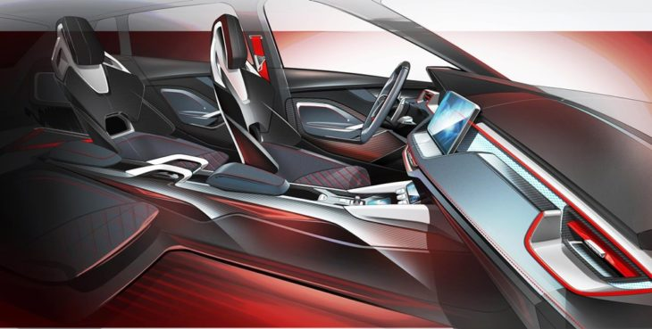 2 VISION RS Interior 730x369 at Skoda Vision RS Concept Interior Teased