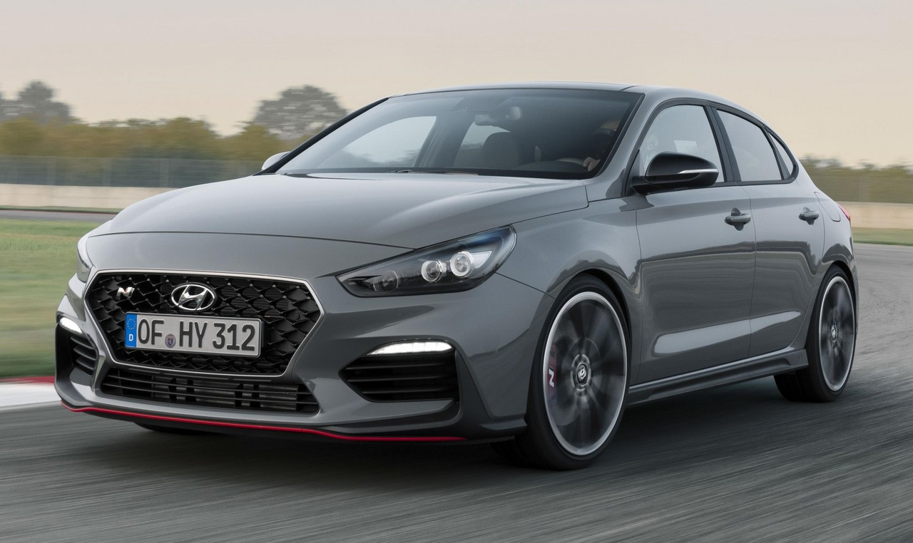 2019 hyundai i30 fastback n revealed ahead of paris debut. Black Bedroom Furniture Sets. Home Design Ideas