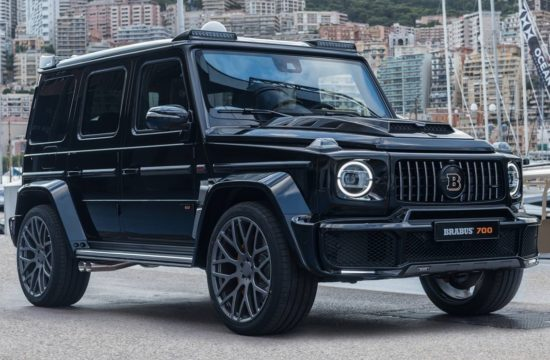 Brabus 700 WIDESTAR 550x360 at Brabus 700 WIDESTAR Based on 2019 Mercedes AMG G63