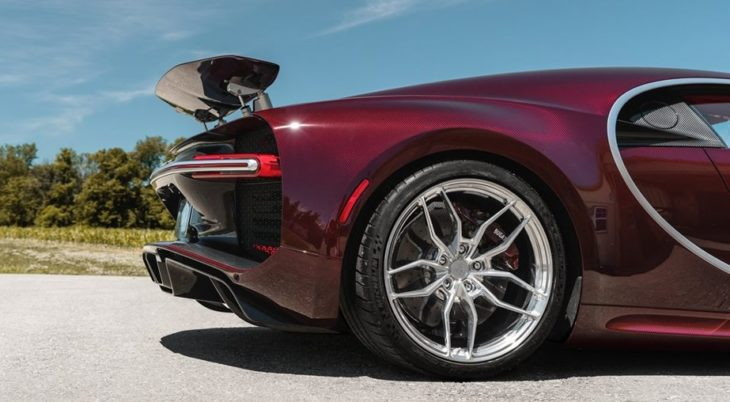 Bugatti Chiron ANRKY Wheels 2 1 730x402 at Bugatti Chiron Looks Extra Special on ANRKY Wheels