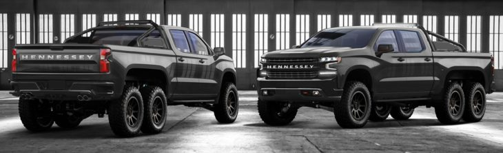 Hennessey Goliath 6x6 6 730x222 at Hennessey Goliath 6x6 Based on 2019 Chevy Silverado