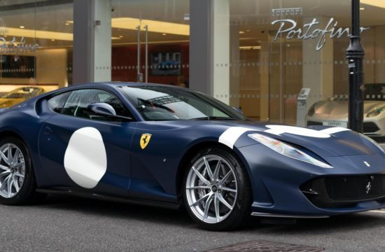 Heritage Inspired Ferrari 812 Superfast 0 550x360 at Heritage Inspired Ferrari 812 Superfast Delivered in UK
