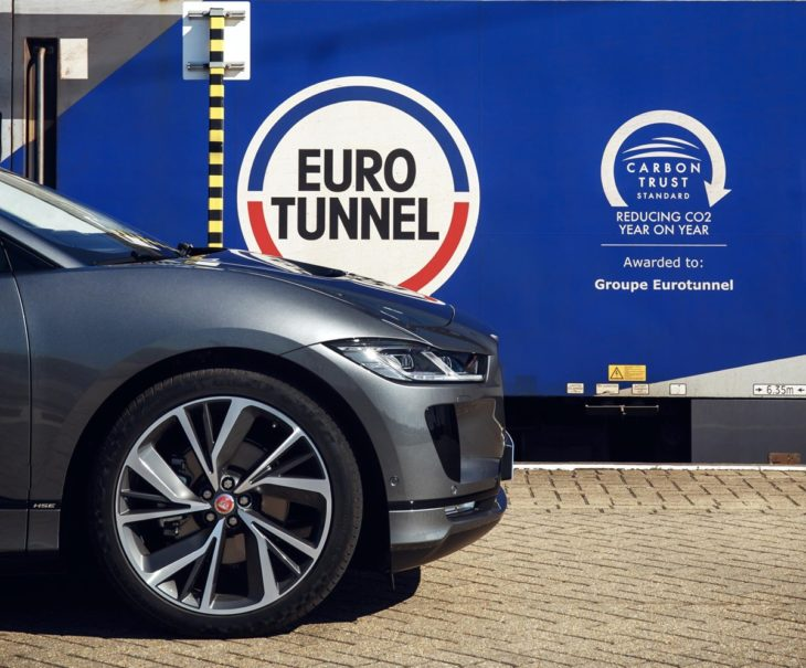 I PACE Lon Bru 004 730x605 at Jaguar I Pace Shows Off Real World Range: London to Brussels on One Charge
