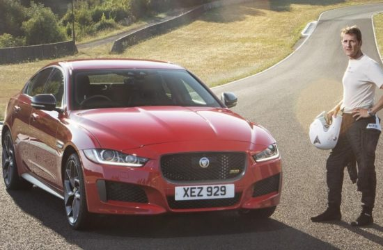 Jag XE 300 SPORT 19MY Forgotten Circuit 250918 01 550x360 at 2019 Jaguar XE Visits a Long Forgotten Circuit in France