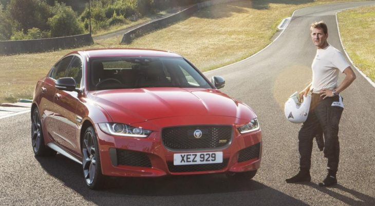 Jag XE 300 SPORT 19MY Forgotten Circuit 250918 01 730x402 at 2019 Jaguar XE Visits a Long Forgotten Circuit in France