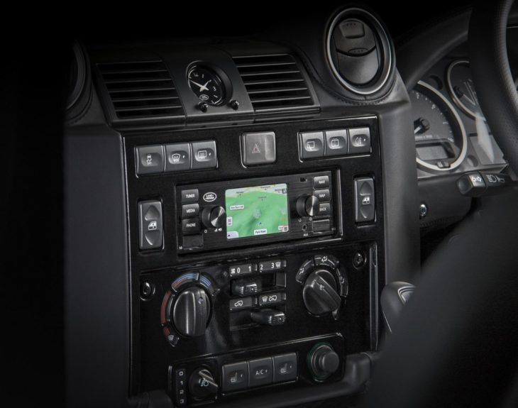 Jaguar Land Rover Classic Infotainment 2 730x575 at Retro Looking Infotainment for Jaguar Land Rover Classic Models
