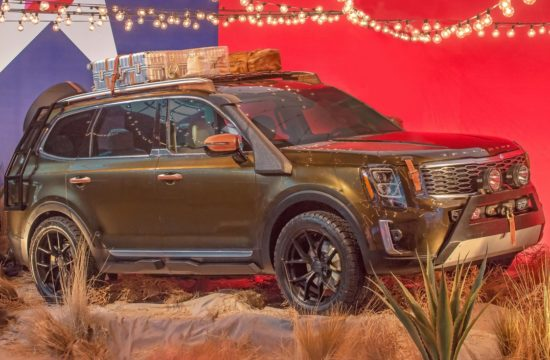 Kia Telluride 2 550x360 at Custom Kia Telluride Makes Runway Debut in New York