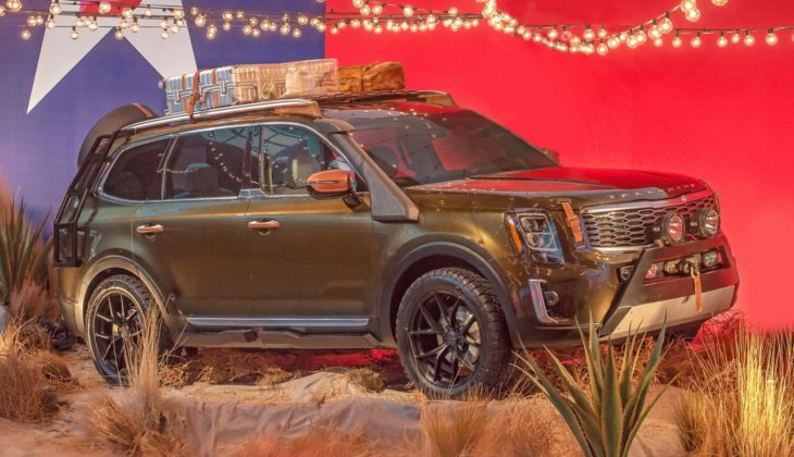 Kia Telluride 2 730x420 at Custom Kia Telluride Makes Runway Debut in New York