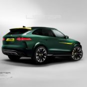 LISTER SUV FINAL REAR 175x175 at Lister LFP High Performance SUV Confirmed