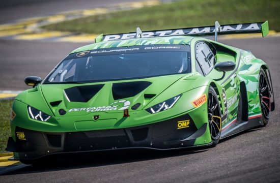 Lamborghini Huracan GT3 EVO 1 550x360 at Lamborghini Huracan GT3 EVO Announced with Improved Performance