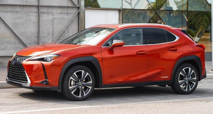 Lexus UX 250h Cadmium Orange 730x394 at US Spec 2019 Lexus UX MSRP Confirmed