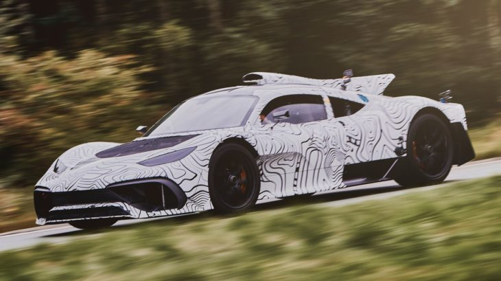 Mercedes AMG Project ONE 5 730x409 at Mercedes AMG Project ONE Begins Road Testing
