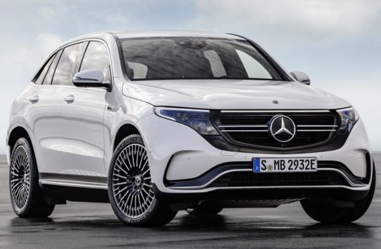 Mercedes EQC 1 550x360 at Mercedes EQC Electric SUV Goes Official with 450km Range