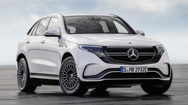 Mercedes EQC 1 730x410 at Mercedes EQC Electric SUV Goes Official with 450km Range