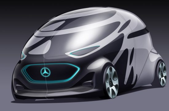 Mercedes Vision URBANETIC 550x360 at Mercedes Vision URBANETIC Is the Van of the Future