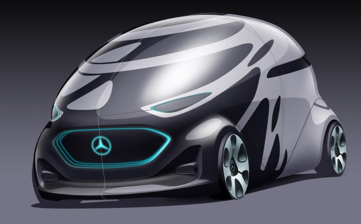 Mercedes Vision URBANETIC 730x453 at Mercedes Vision URBANETIC Is the Van of the Future