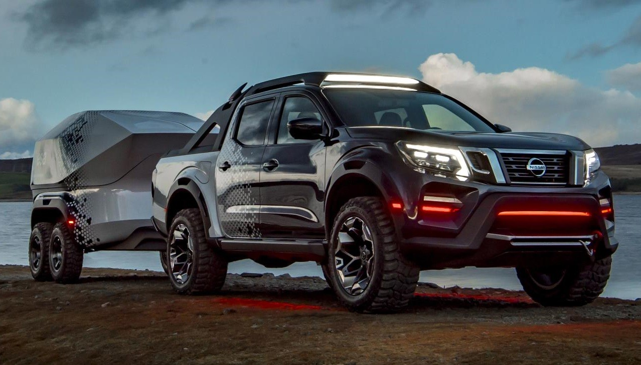 nissan navara dark sky concept unveiled in hannover. Black Bedroom Furniture Sets. Home Design Ideas