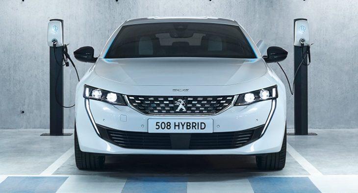 PEUGEOT 508PHEV 1809PB 002 730x395 at Peugeot Unveils New Plug In Hybrid Range