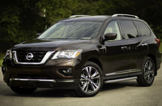 Pathfinder MY2019 13 550x360 at 2019 Nissan Pathfinder MSRP Starts from $31,230