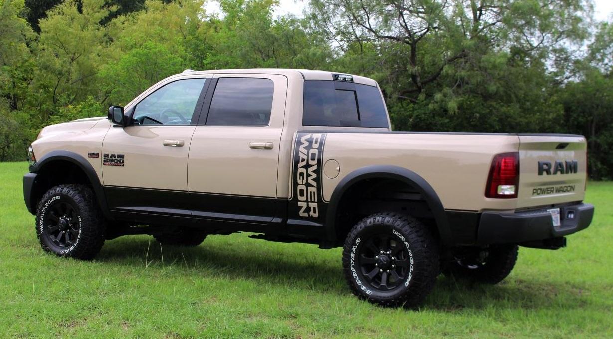 2018 Power Wagon >> Official 2018 Ram 2500 Power Wagon Mojave Sand Edition