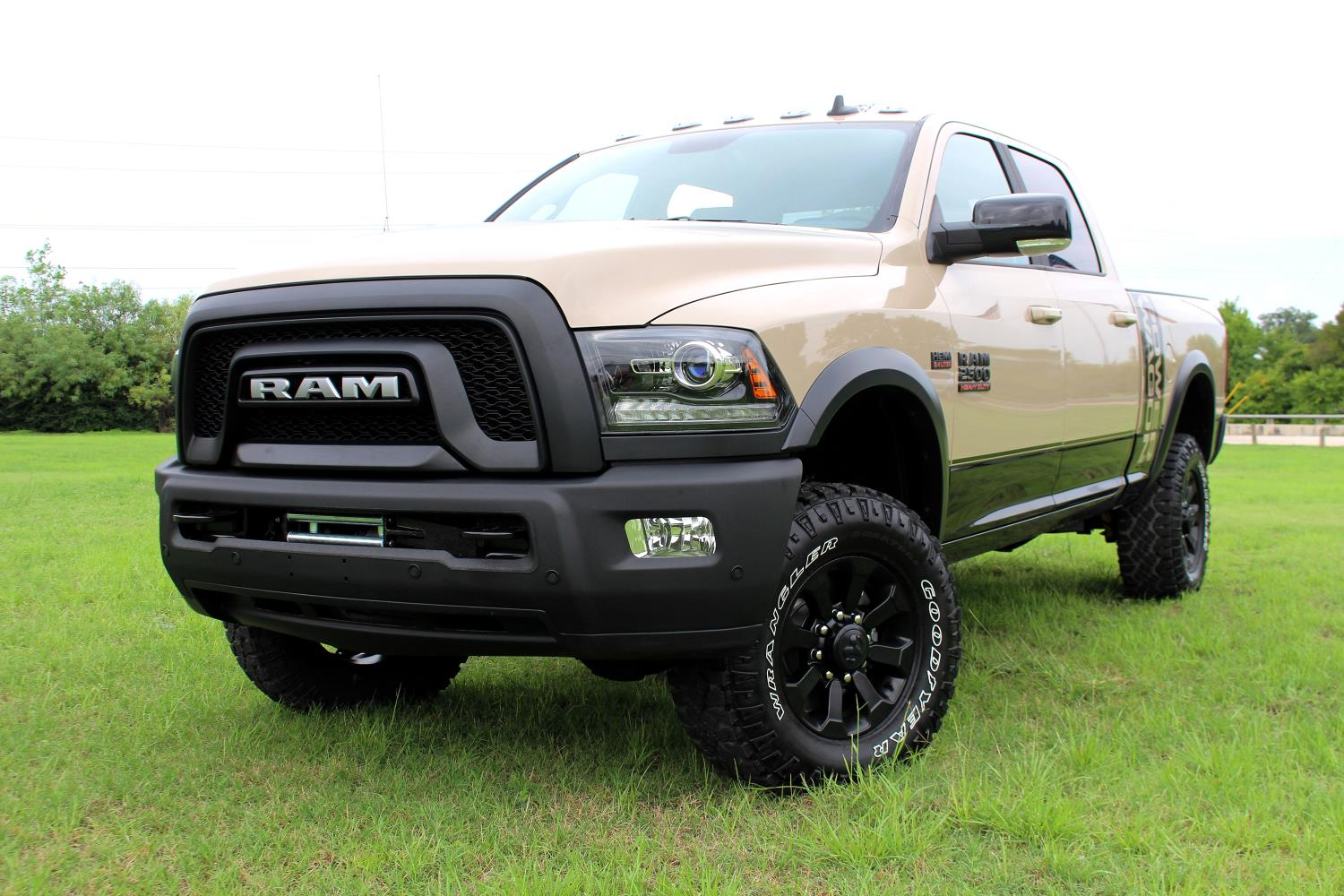 Official 2018 Ram 2500 Power Wagon Mojave Sand Edition 1964 Dodge Crew Cab What You Get With The Is Exclusivity Truck Limited To 1500 Units And It Comes Some Special Features