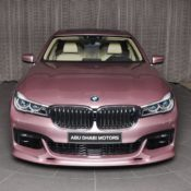 Rose Quartz BMW M750Li 1 175x175 at Rose Quartz BMW 750Li Is a Sight to Behold!