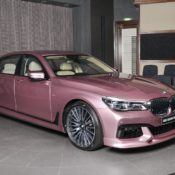 Rose Quartz BMW M750Li 4 175x175 at Rose Quartz BMW 750Li Is a Sight to Behold!