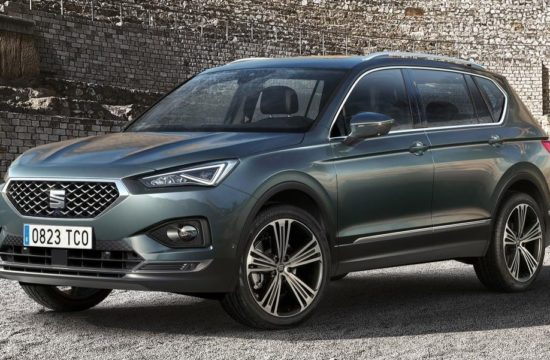SEAT Tarraco 1 550x360 at 2019 SEAT Tarraco Revealed with 5 and 7 Seat Options
