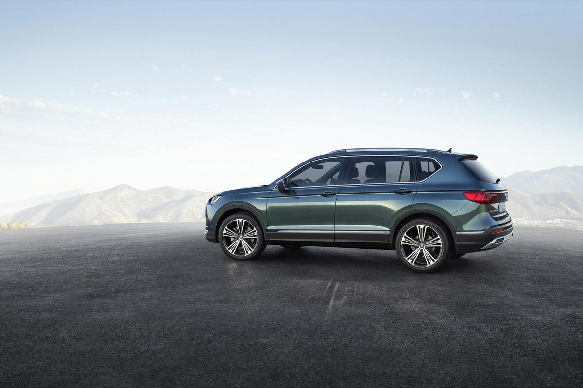 2019 seat tarraco revealed with 5 and 7 seat options. Black Bedroom Furniture Sets. Home Design Ideas