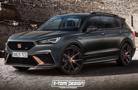 Seat Tarraco Cupra R 550x360 at New SEAT Tarraco Rendered in Cupra R Guise