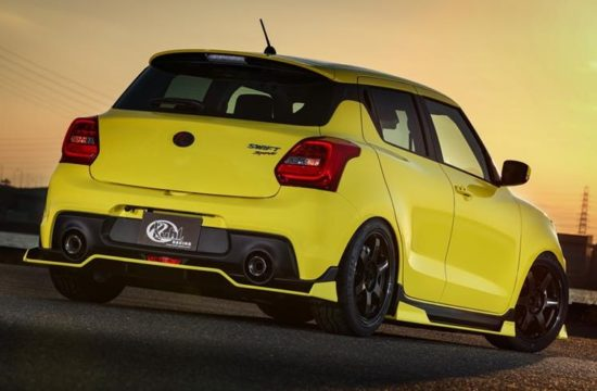 Suzuki Swift Sport by Kuhl Racing 4 550x360 at 2019 Suzuki Swift Sport by Kuhl Racing