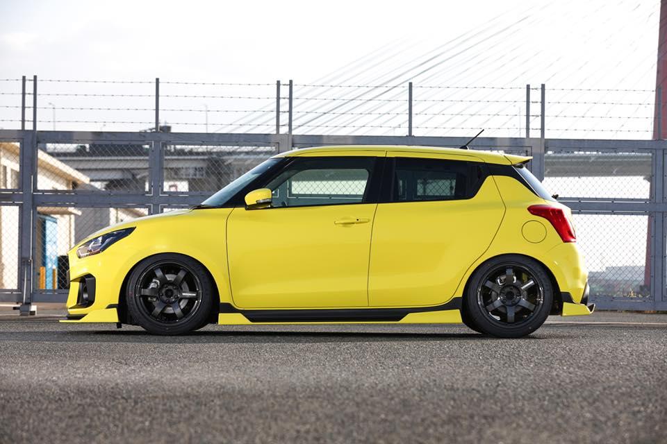 2019 Suzuki Swift Sport by Kuhl Racing