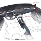 VISION RS sketch interior 01 175x175 at Skoda Vision RS Revealed in Official Sketches