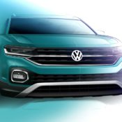 Volkswagen T Cross sketch 175x175 at Volkswagen T Cross Shows More of Itself in Official Renderings