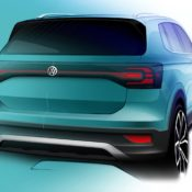 Volkswagen T Cross sketch 2 175x175 at Volkswagen T Cross Shows More of Itself in Official Renderings