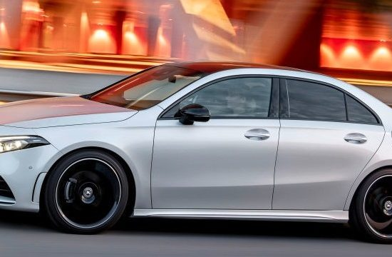 a class saloon 550x360 at 2020 Mercedes A Class Saloon Priced from 30,916 EUR