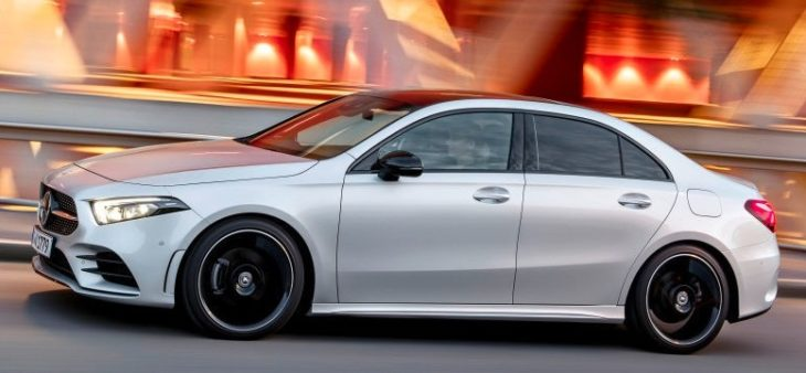 a class saloon 730x338 at 2020 Mercedes A Class Saloon Priced from 30,916 EUR
