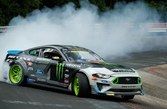 mustang rtr nurbirgring drift 1 550x360 at Gittin Jrs Mustang RTR Drifts Through the Entire Nurburgring!